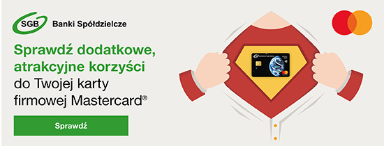 Dodatkowe korzyści dla firmowej karty Mastercard®